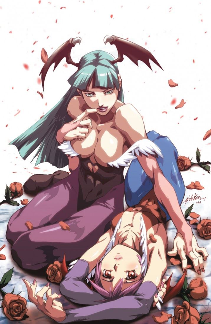 Morrigan_and_Lilith_by_alvinlee