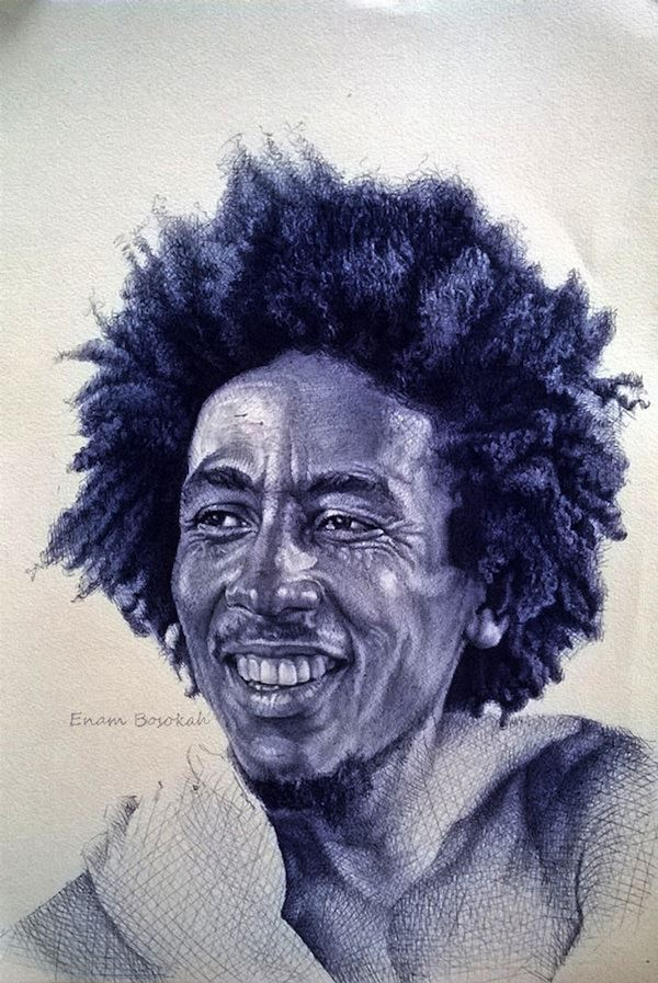 Photorealistic_Portraits_Created_With_Simple_Ball_Point_Pens_by_African_Artist_Enam_Bosokah_2015_14