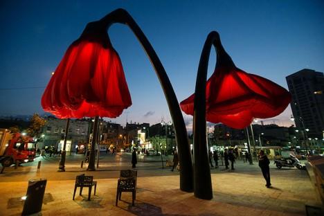 Jerusalem's Vallero廣場