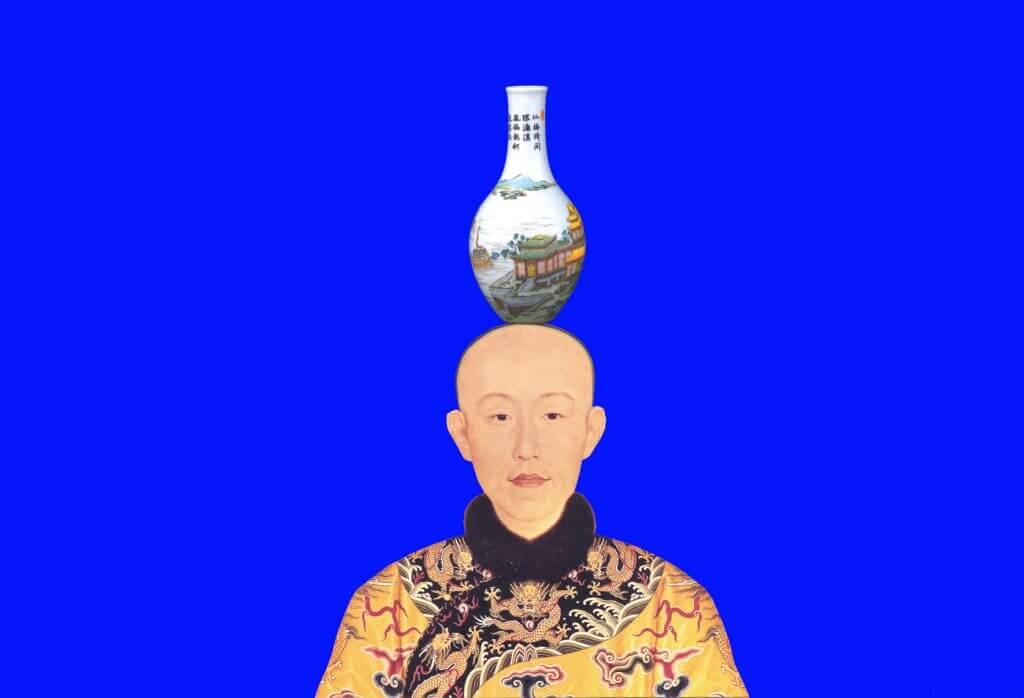J梅丁衍Dean-E MEI_帝國之道_影像輸出於畫布 _53x80cm _2008(藝星藝術中心) _