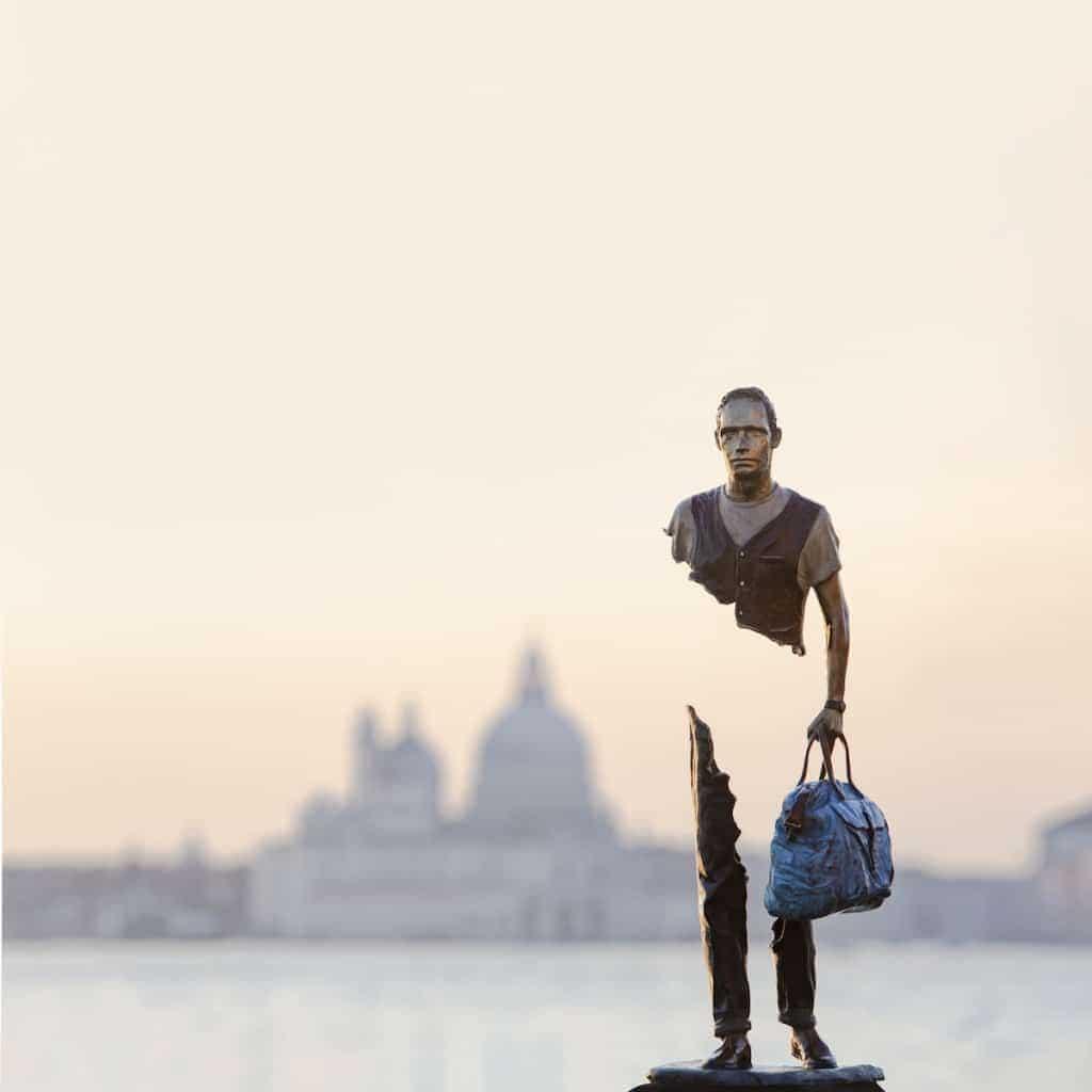 Bruno Catalano,藝術,雕塑,無知,殘缺,法國藝術家,移民,旅行,月專題,城市美學新態度