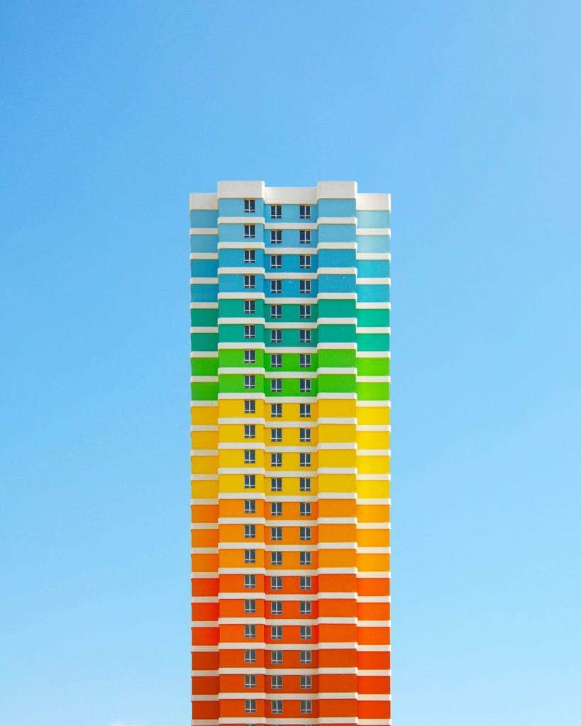 城市美學新態度,土耳其,打卡,彩虹,建築
