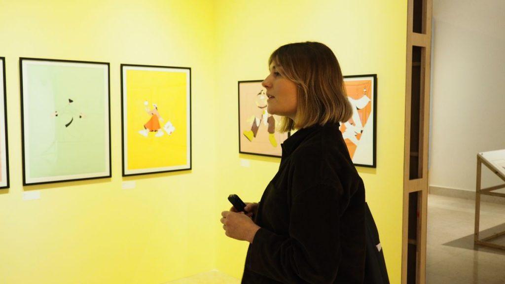 專訪,女孩女孩-國際圖文藝術創作特展,Linn Fritz,瑞典,panimation,性別平權,女力,極簡,藝術,城市美學新態度