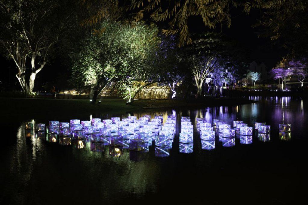2020月津港燈節,游文富,鹽水月之美術館,AR,多媒體藝術,互動體驗,城市美學新態度