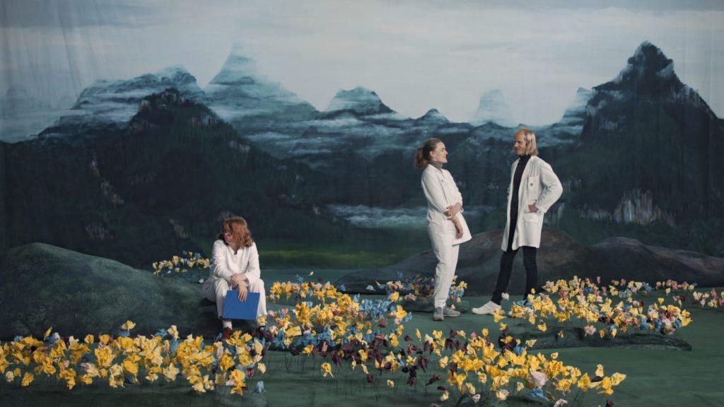巴塞爾藝術展,Art Basel,Ragnar Kjartansson, Figures in Landscape (Sunday), 2018, Luhring Augustine Gallery ,藝術繪畫