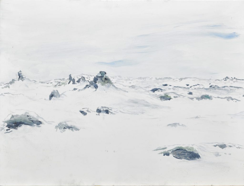 巴塞爾藝術展,Art Basel,藝術繪畫,Ragnar Kjartansson, Eldhraun, 2019, Luhring Augustine Gallery