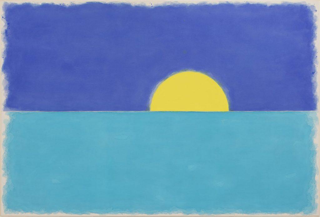 巴塞爾藝術展,Art Basel,藝術繪畫,Ugo Rondinone, fünfterjanuarzweitausendundzwanzig, 2020, Gladstone Gallery