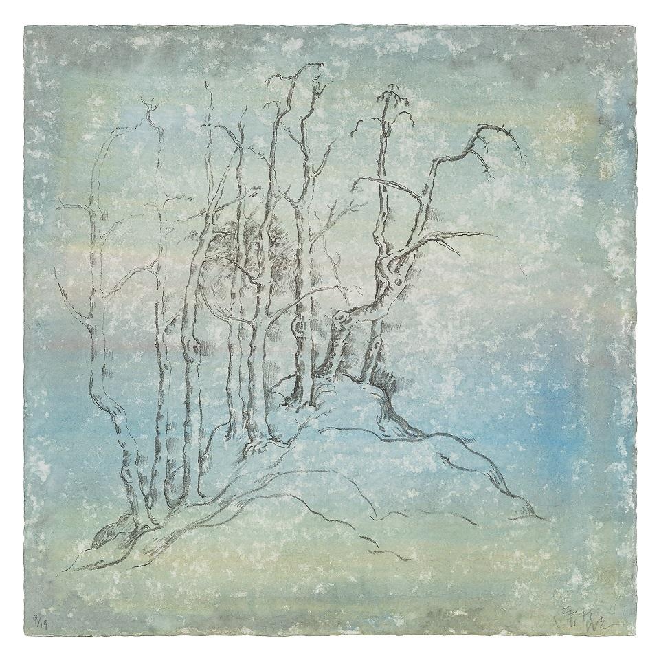巴塞爾藝術展,Art Basel,藝術繪畫,Fanzhi Zeng, Autumn River, 2018, STPI Gallery
