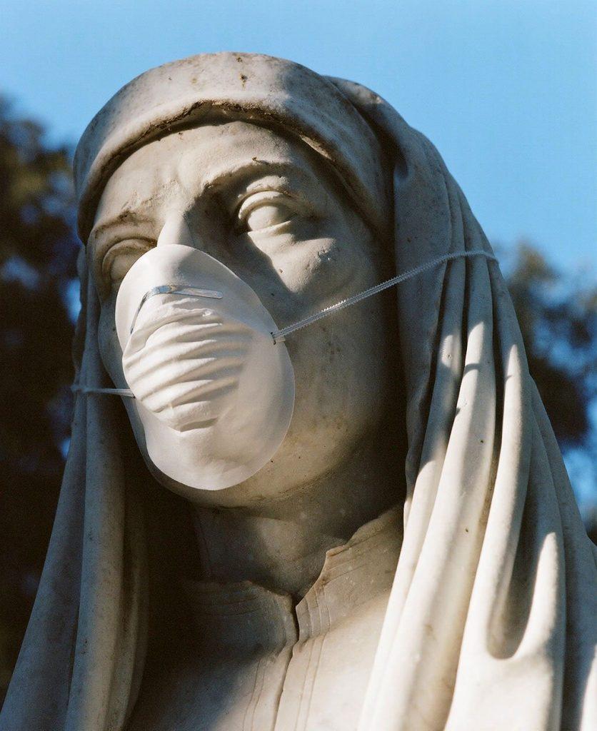 貝佳斯公園,Villa Borghese gardens,新冠病毒,COVID-19,Federico Pestilli,攝影,惡趣味,當代藝術