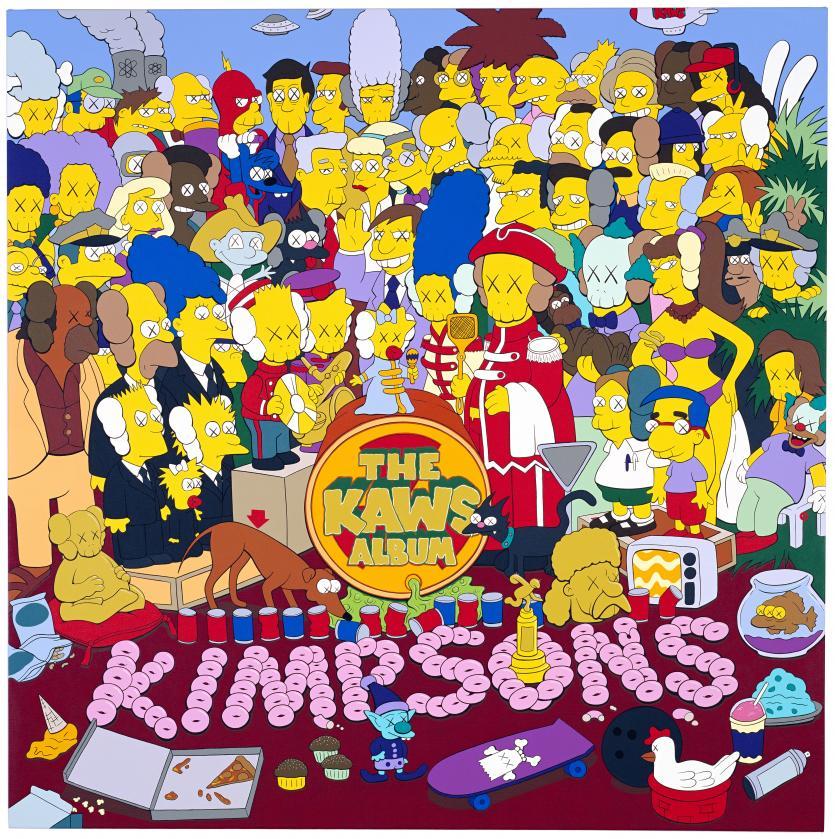 National Gallery of Victoria,NGV,The Kaws Album,Kaws,塗鴉,當代藝術