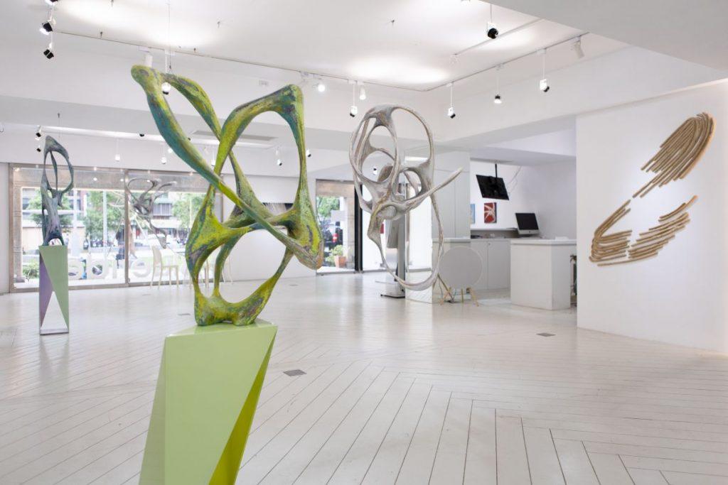 雕塑,Wolfgang Flad,生生不息,個展