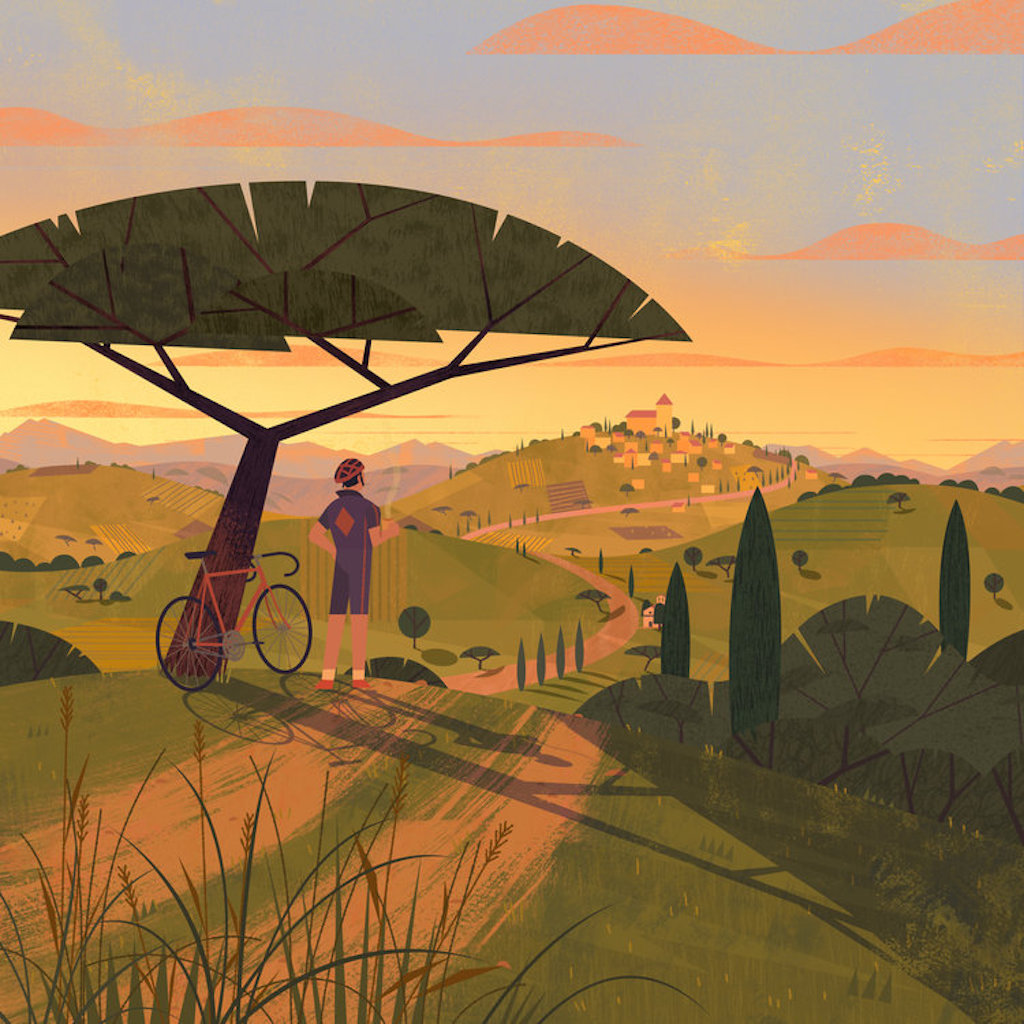 居家隔離,插畫,法國插畫家,南法,動畫,自然,環保,藝術,城市美學新態度