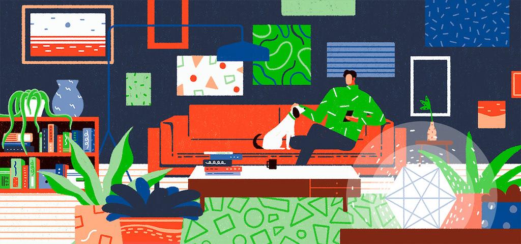 動態圖像設計師,杜鈺凱,出口,動畫,安錫國際動畫影展,台北數位藝術節,數位動畫展,插畫,多彩,繽紛,色塊,幾何,科技,生活,科技依賴,科技成癮,中國風,中國古鎮,城市美學新態度