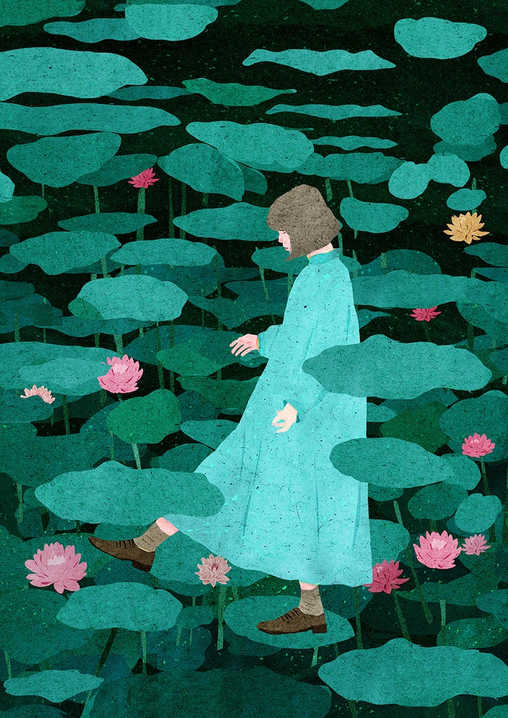 一張含有 室外, 草, 傘, 花 的圖片  自動產生的描述