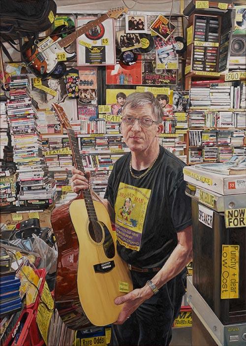 英國國家肖像藝廊,National Portrait Gallery,英國國家肖像大賽,BP Portrait Award,線上虛擬展覽,肖像畫
