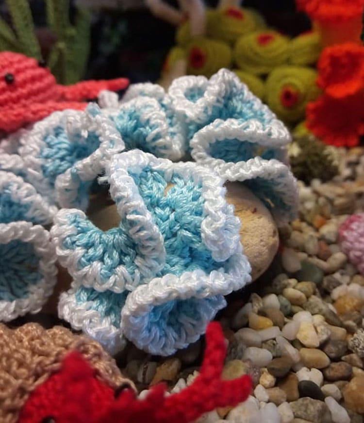 Lindadi Creations,編みぐるみ,毛線娃娃,手編玩偶,amigurumi,編織水族館,超逼真編織