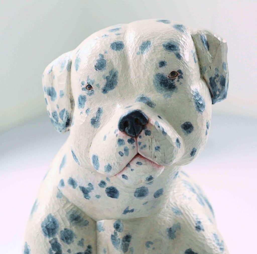 佐野美里,Misato Sano,木雕藝術家,犬像雕刻
