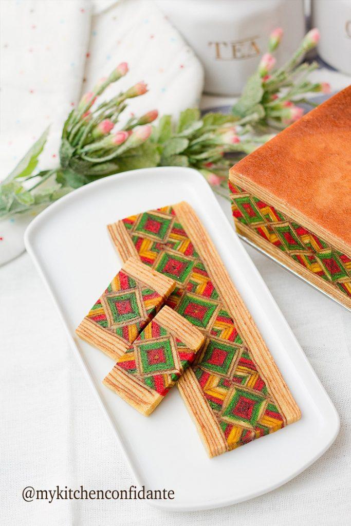 馬來西亞千層蛋糕kek lapis Sarawak