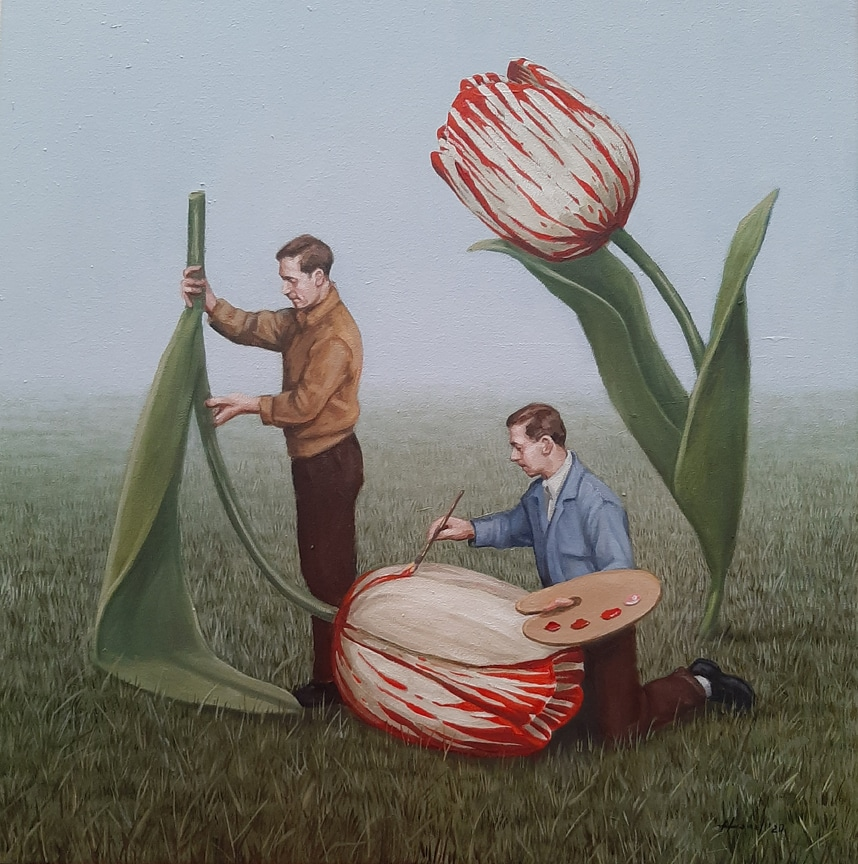 藝術家Toni Hamel