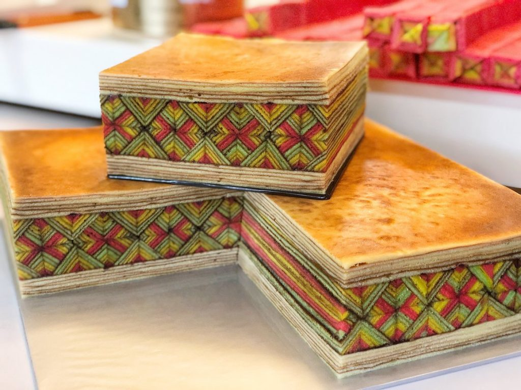 馬來西亞千層蛋糕