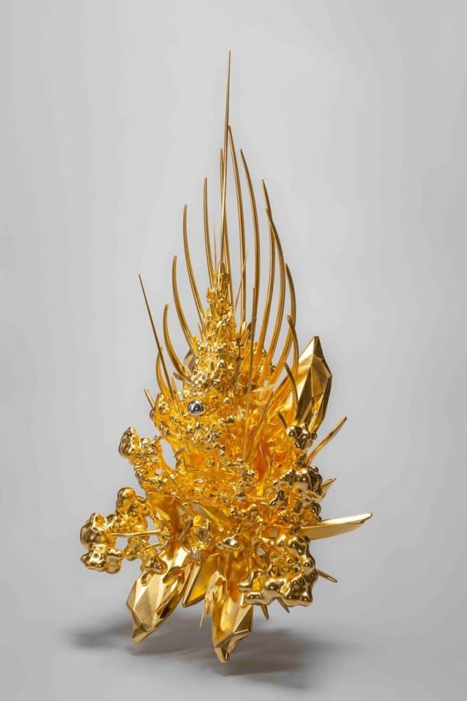 名和晃平,《Throne》,公共藝術展區