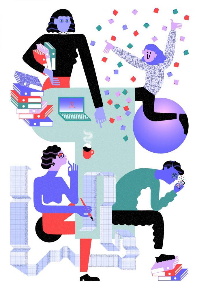Julia Schwarz數位插畫