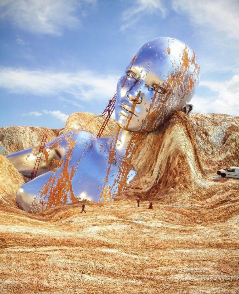 數位藝術家Chad Knight