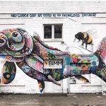 Louis Masai拼布動物壁畫
