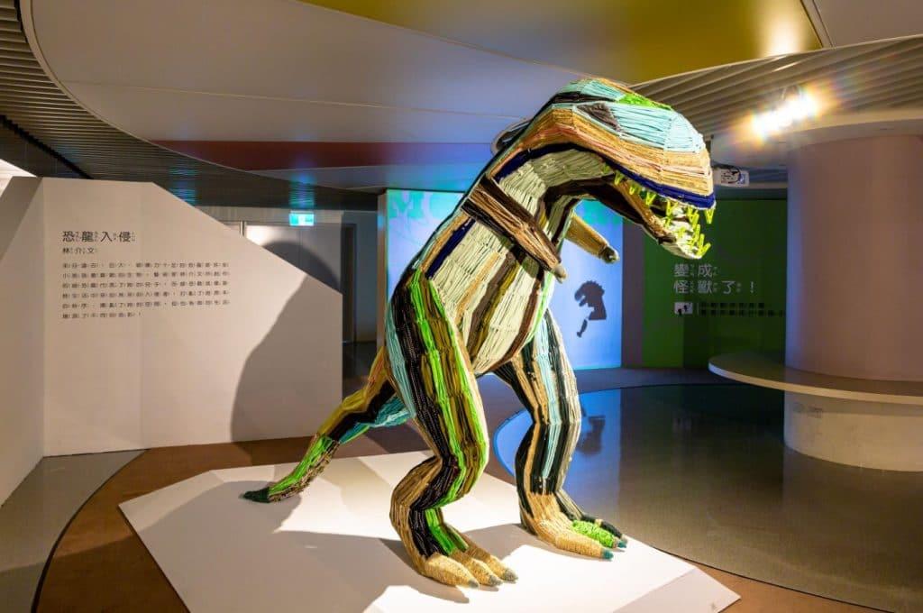 林介文《恐龍入侵》。