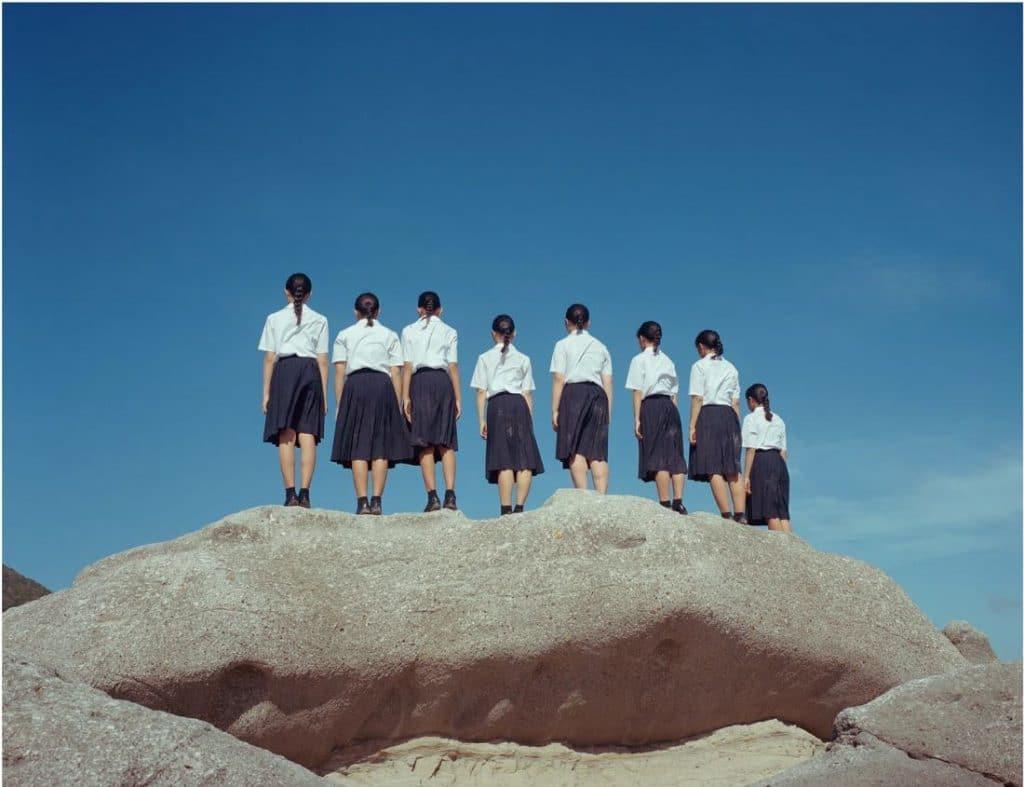 Osamu Yokonami 《Kumo》 匿名 攝影