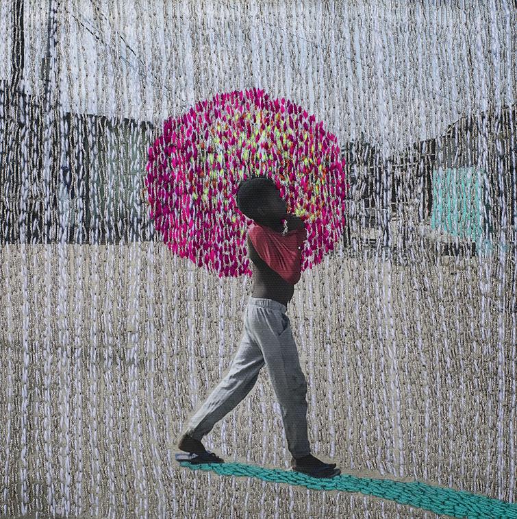 象牙海岸視覺藝術家Joana Choumali
