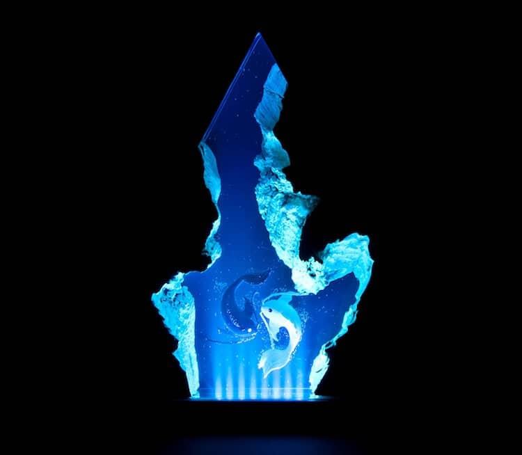 Samil Demirel海中樹脂燈飾