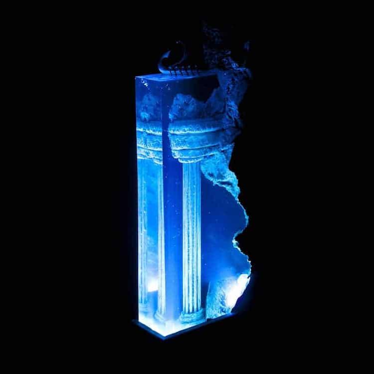 Samil Demirel海中 樹脂 燈飾