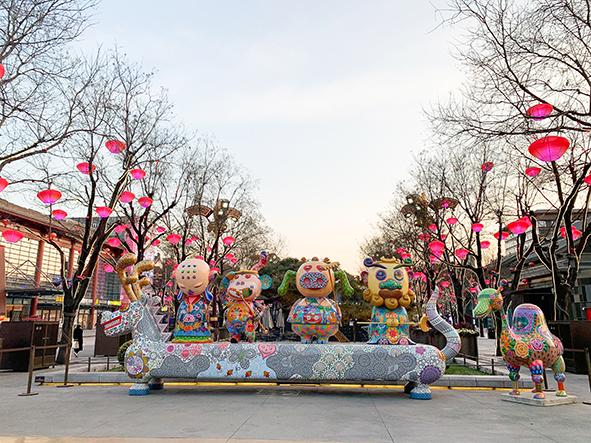 2021春節-中國年·看西安 系列文化旅遊活動藝術品展。圖片提供/洪易美術館。