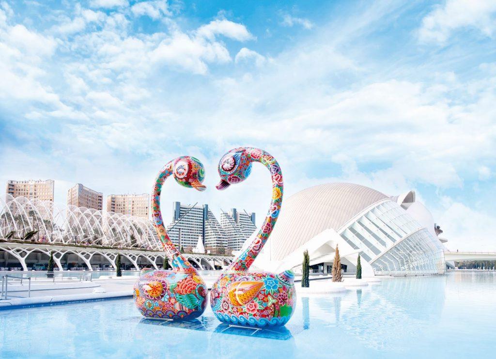 Galaxia Hung洪易星際之旅-雕塑藝術個展。圖片提供/ 洪易 美術館。