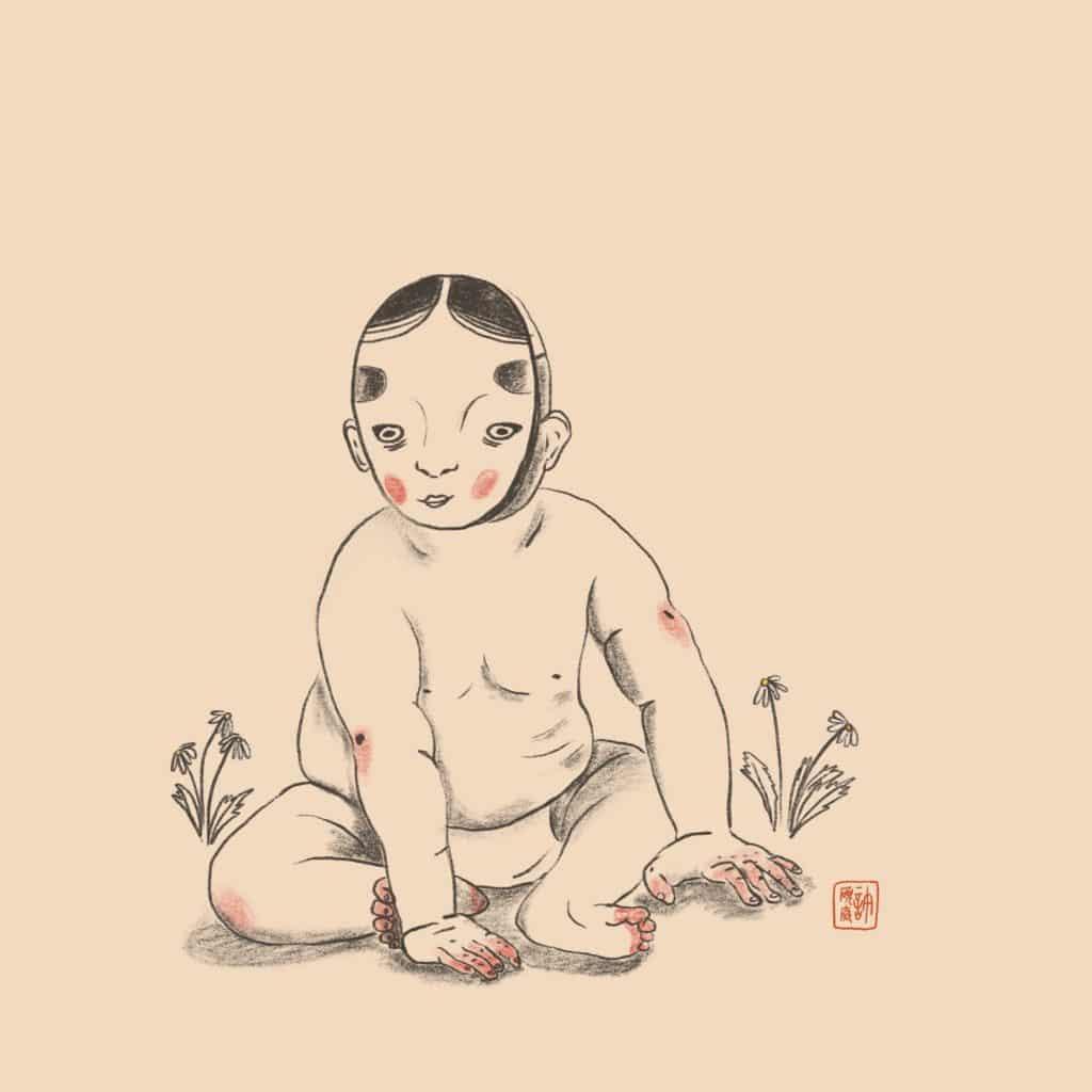 亞洲文化與插畫
