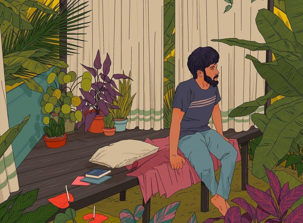 藝術家Muhammed Sajid
