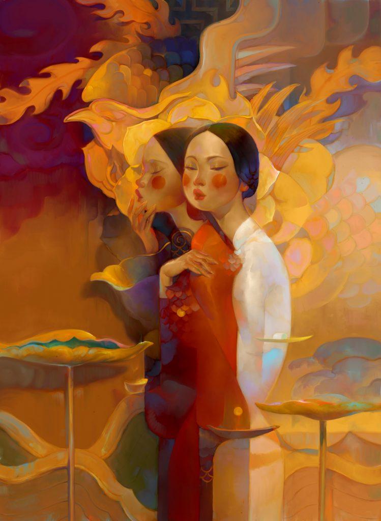 越南插畫家Nguyen Thanh Nhan
