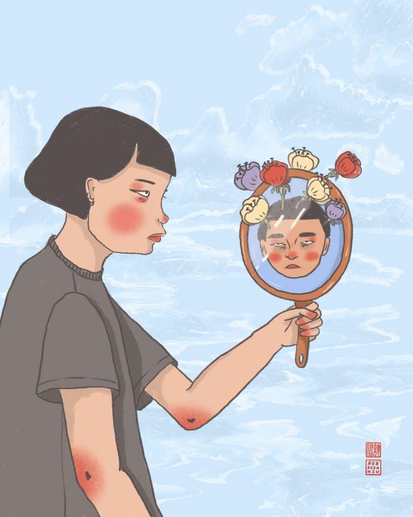 亞洲 文化 插畫