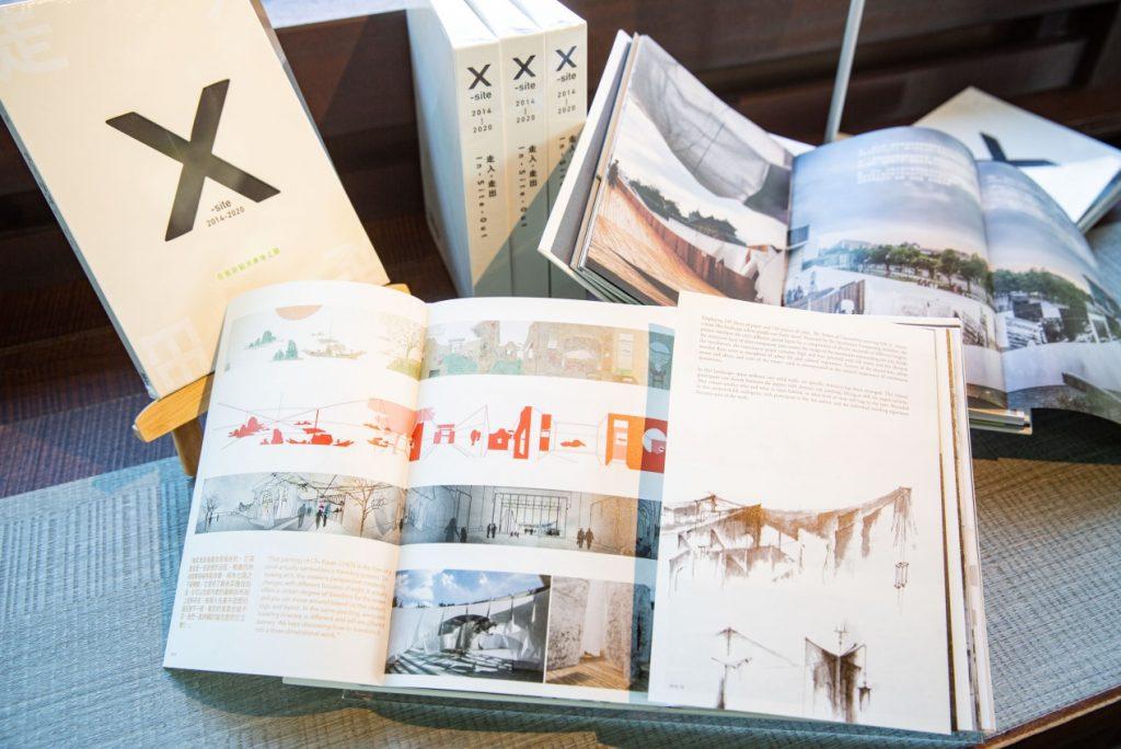 《走入.走出:X-site 2014-2020》,專書內頁。 ©臺北市立美術館