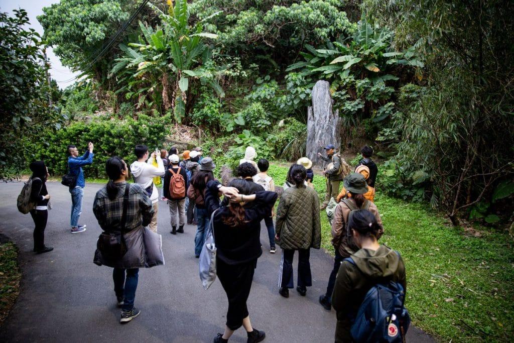 「國家所在的遺人遺事」走讀活動。圖像由臺北市立美術館提供。