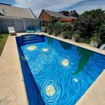 星夜 游泳池