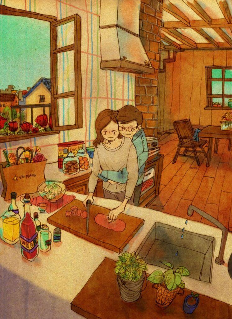 Puuung 情侶 動畫