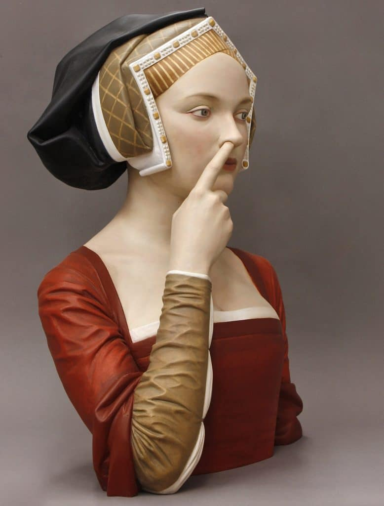 Gerard Mas 幽默 女性 雕塑
