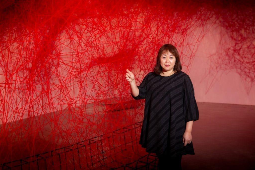 塩田千春 :顫動的靈魂