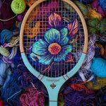 花朵 刺繡