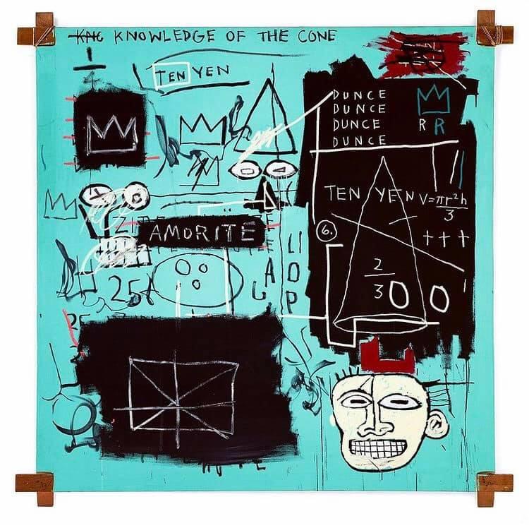 Jean-Michel Basquiat Tiffany